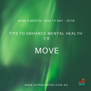 Move to enhance your mental health