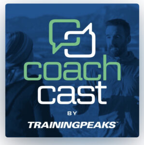 Image of the Coach Cast by Training Peaks podcast